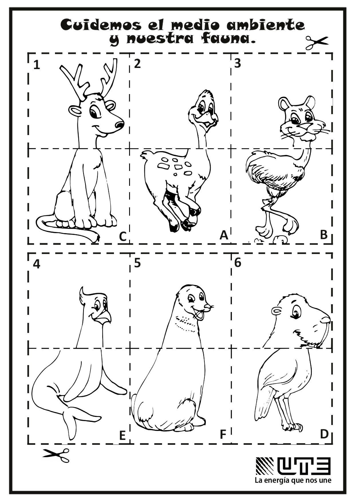 Magnífico Dibujos Para Colorear Imprimibles De Animales Patrón ...